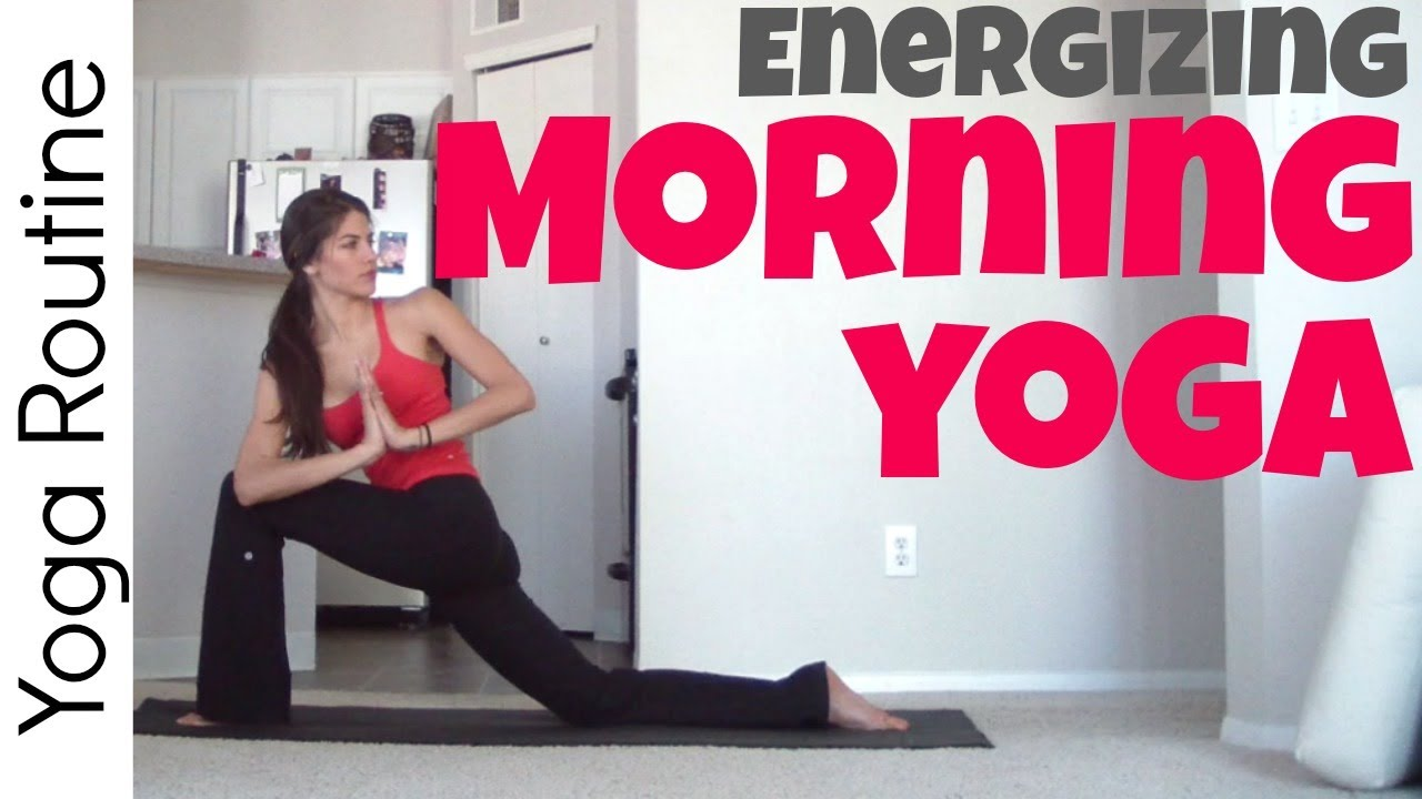 Energizing Morning Yoga Routine