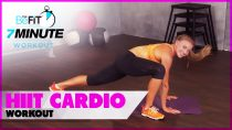 HIIT Cardio Workout to Burn Fat Fast: 7 Minute Workout Series