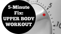 5 Min Fix: Upper Body Workout For All Levels No Equipment Home Fitness
