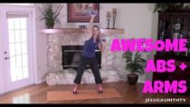 Abs, Arm flab, Full Length Toning and Fat Burning Workout: Awesome Abs And Arms