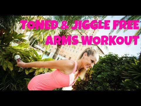 Exercise, Workout, Arm Flab: Toned and Jiggle Free Arms – Full Length 20-Minute Workout