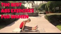 The Best Abs Exercises for Women (lower abs, bikini abs, flat belly, stomach exercises)