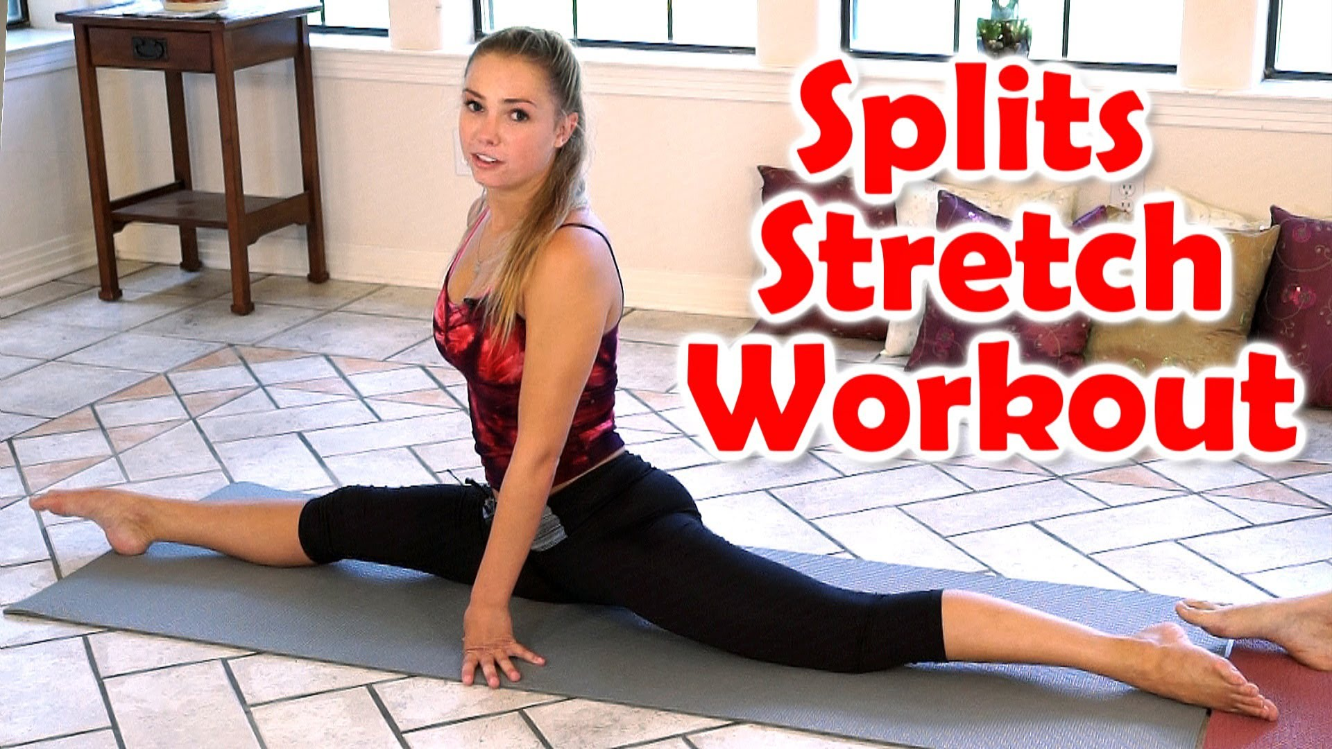 12 Minute Splits Stretch Flexibility Workout For Beginners How To Tutorial For The Splits