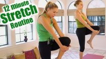 12 Minute Stretch Routine for Back Pain Relief, Flexibility For Beginners How To Tutorial