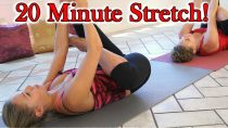 20 Minute Stretches for Hip & Back Pain, How to Stretch for Beginners, Home Fitness Routine
