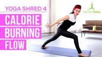 Calorie Burning Flow – Day 4 – 14 Day Yoga Shred Challenge