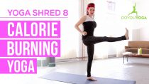 Calorie Burning Yoga – Day 8 – 14 Day Yoga Shred Challenge
