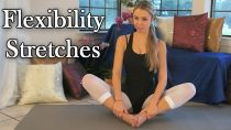 Flexibility Stretches For Dancers, Cheerleaders & Gymnasts, Beginners Exercises Routine