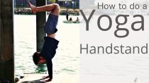 How to do a handstand – Yoga with Tim