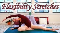 Stretches To Improve Flexibility – 8 Minute Basic Dance & Ballet Stretch Exercise Routine