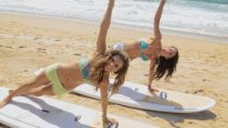 Toned & Lean Beach-Day Routine! Cinches your waistline!!