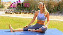 40 Minute Full Body Pilates Exercise Fitball Workout