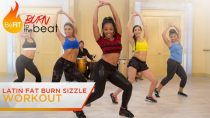 Latin Fat Burn Sizzle Workout: Burn to the Beat- Keaira LaShae