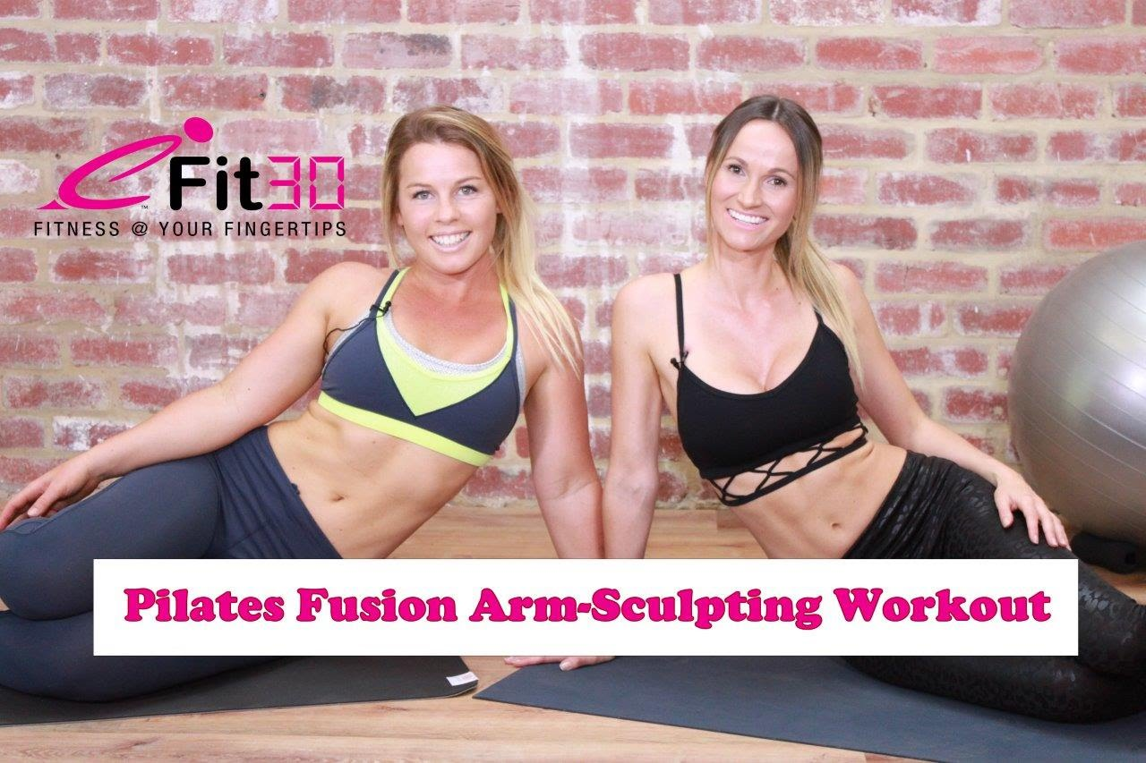 Pilates Fusion Workout – Arm, shoulder and back sculpting