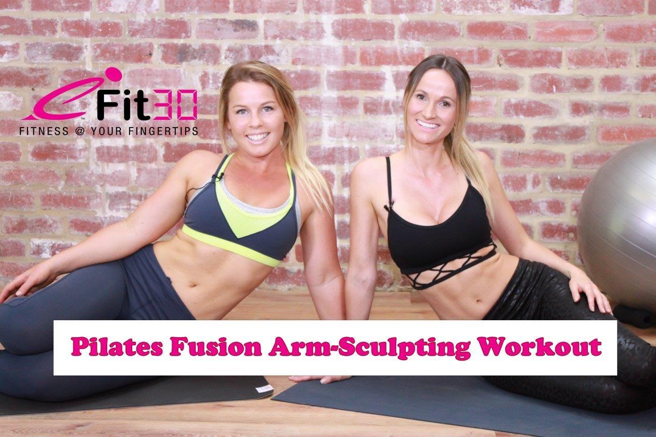 Pilates Fusion Workout – Arm, shoulder and back sculpting