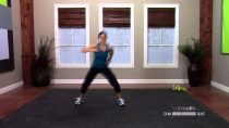 Kickbox workout at home with Dana – 60 Minutes