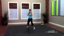 Kickbox workout for beginners with Dana – 30 Minute