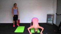 #MindBodyMat: day #10 – Body Weight Workout with Sweat & Oranges