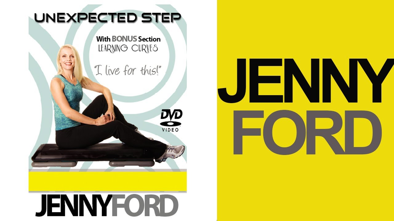 STEP AEROBICS – Advanced level – Jenny Ford