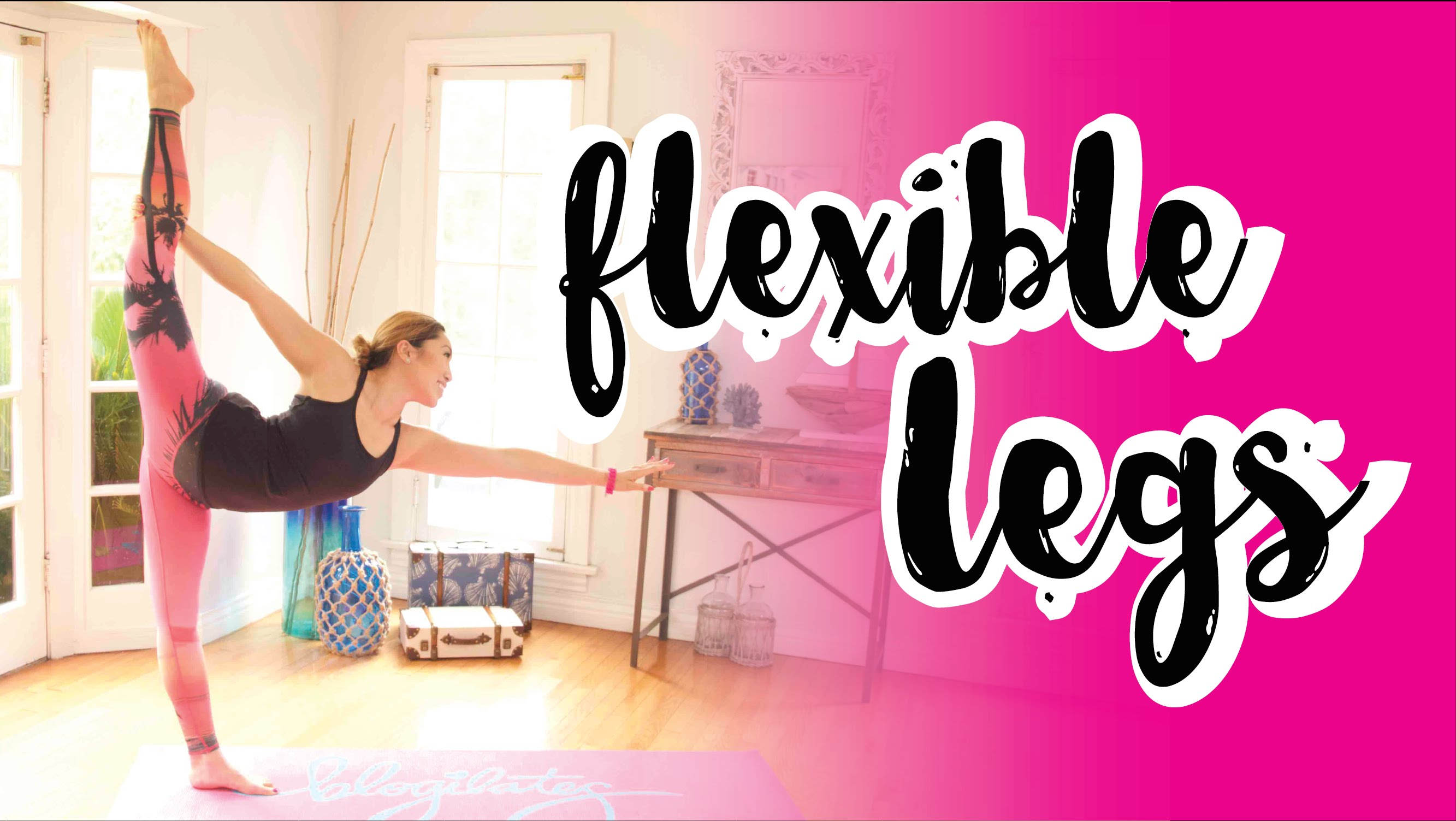 Stretching for Leg Flexibility! Swimsuit Slimdown Series