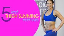 5 Best Slimming Thigh Exercises | Natalie Jill