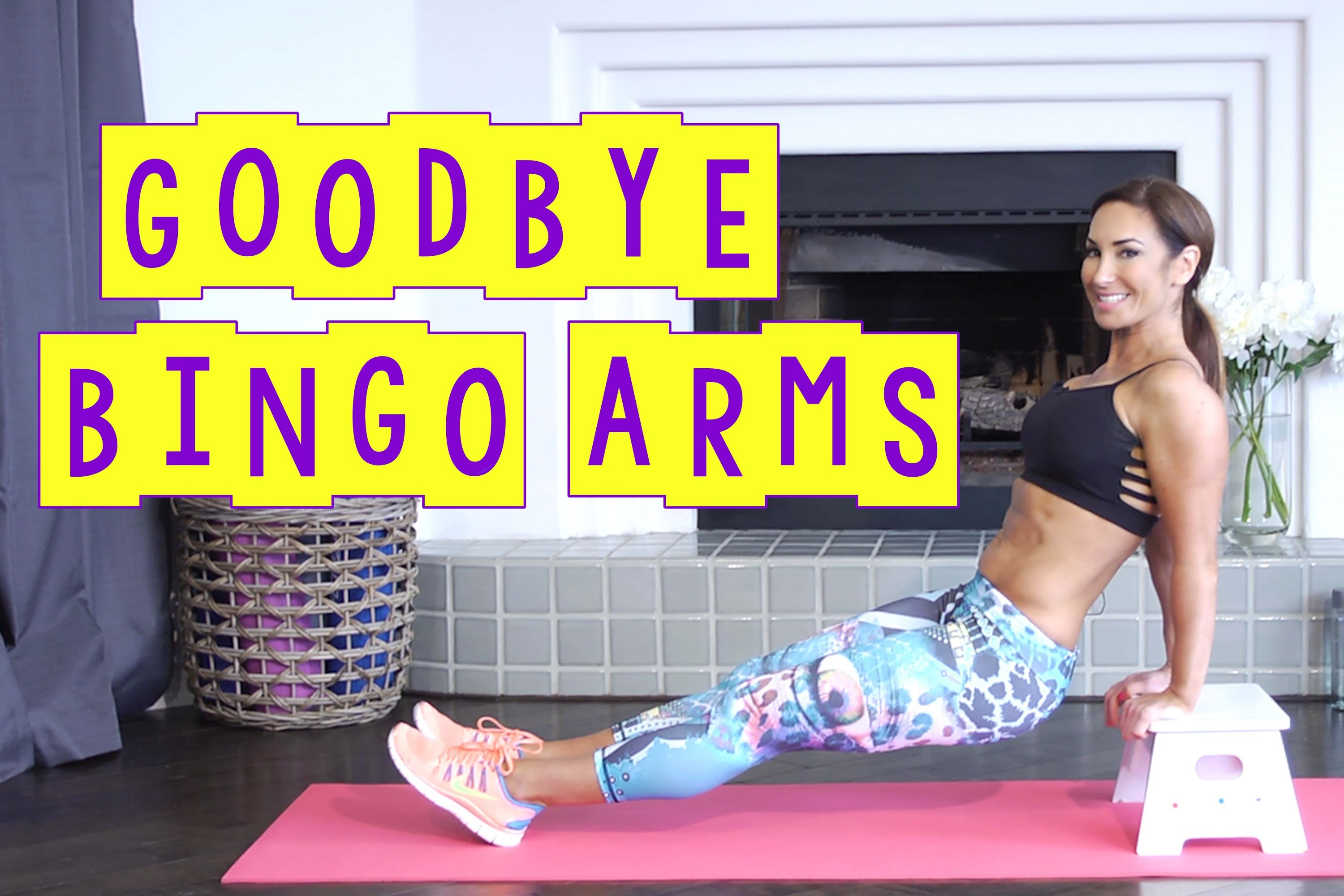 Best Tricep Workout To Get Rid Of Those Bingo Arms | Natalie Jill
