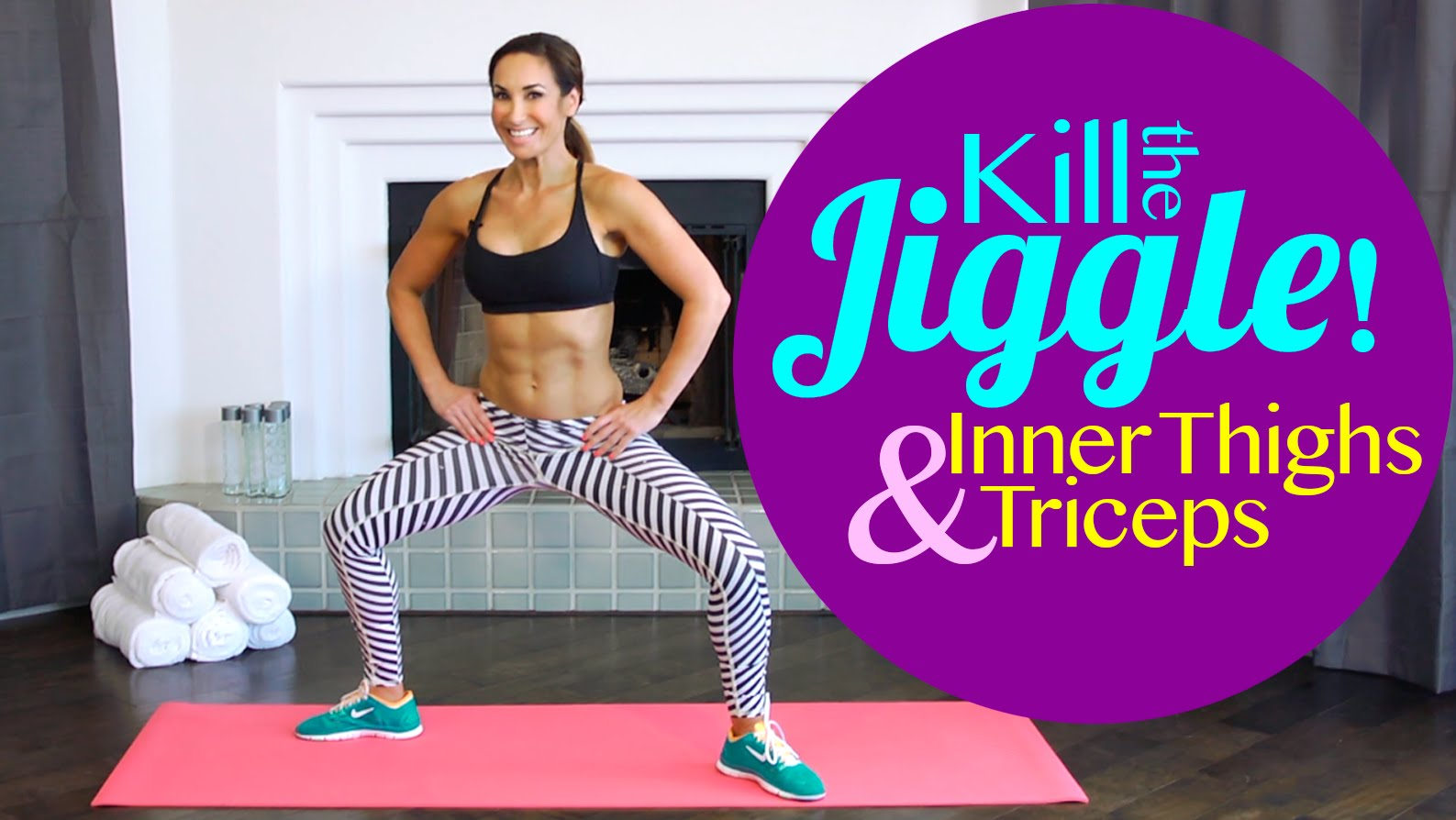 How To Tone Inner Thighs and Triceps | Kill the Jiggle | Natalie Jill