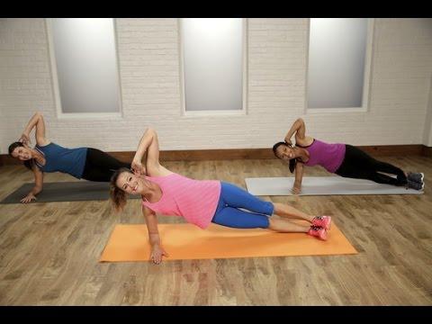 30-Minute Flat Belly Workout | Class FitSugar