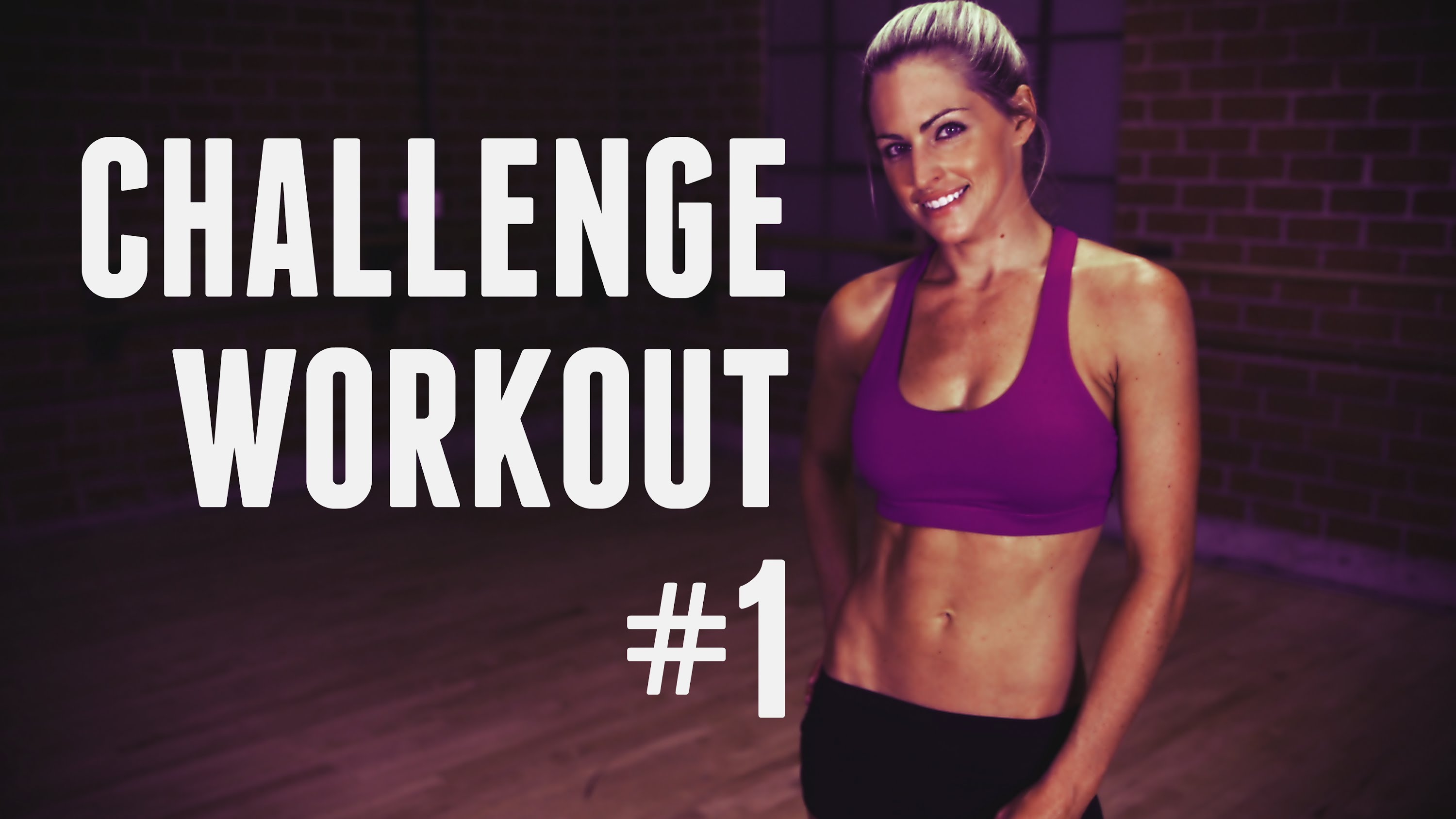 4 Week Challenge Workout – Total Body Workout to get you in Shape and Feeling Great
