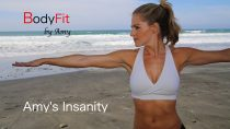 Amy's Insanity Plyometric Cardio and Strength Workout