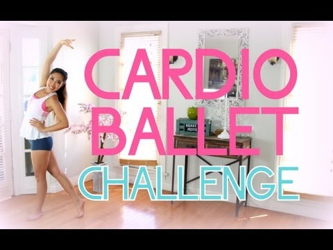 Legs for Days Cardio Ballet Challenge