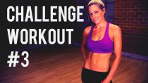 Total Body Challenge Workout #3 — Body Weight & Dumbbell Workout