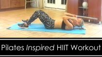 Pilates Inspired HIIT WORKOUT: AT HOME, NO EQUIPMENT