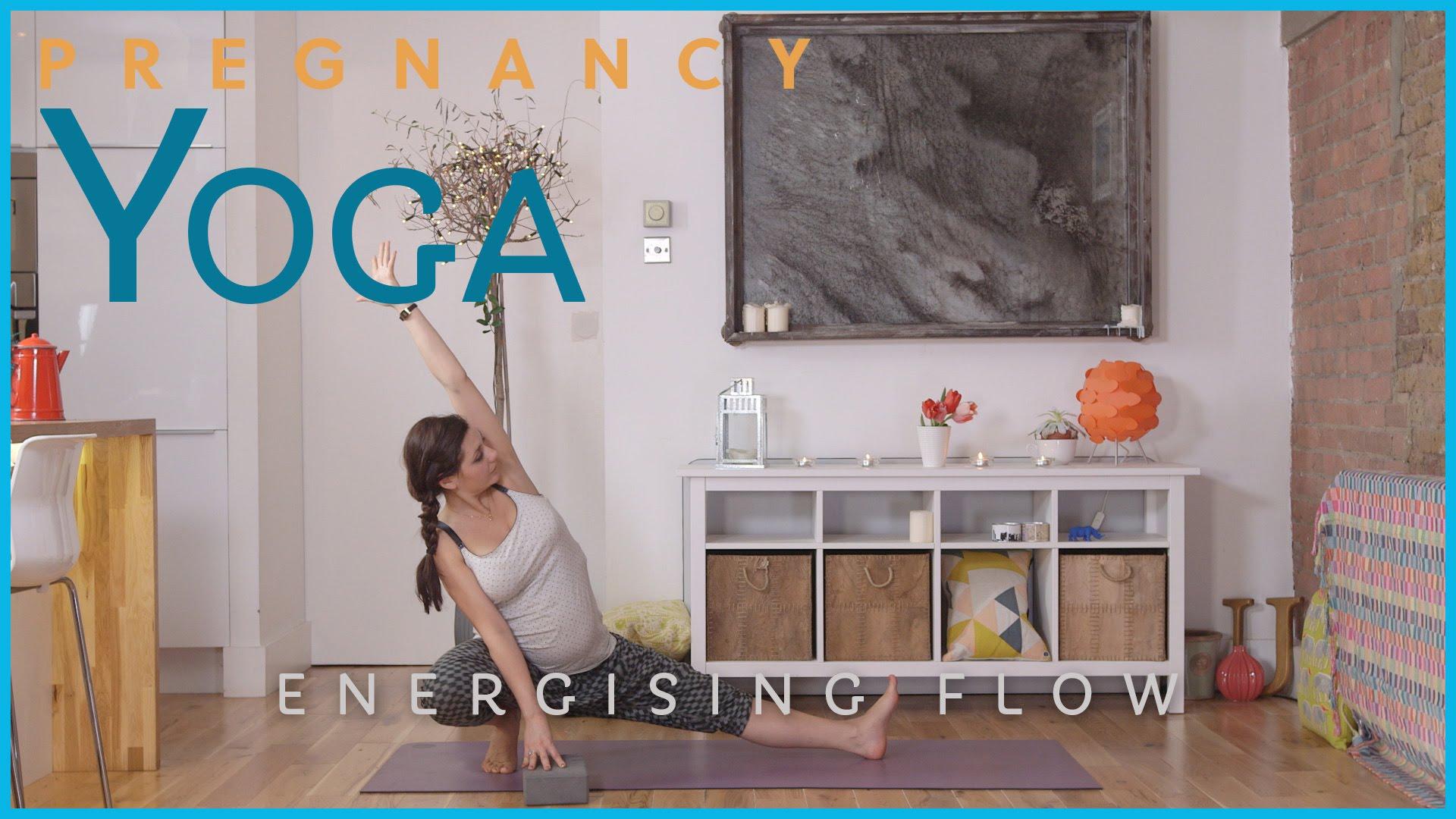 Pregnancy Yoga – Energising Flow