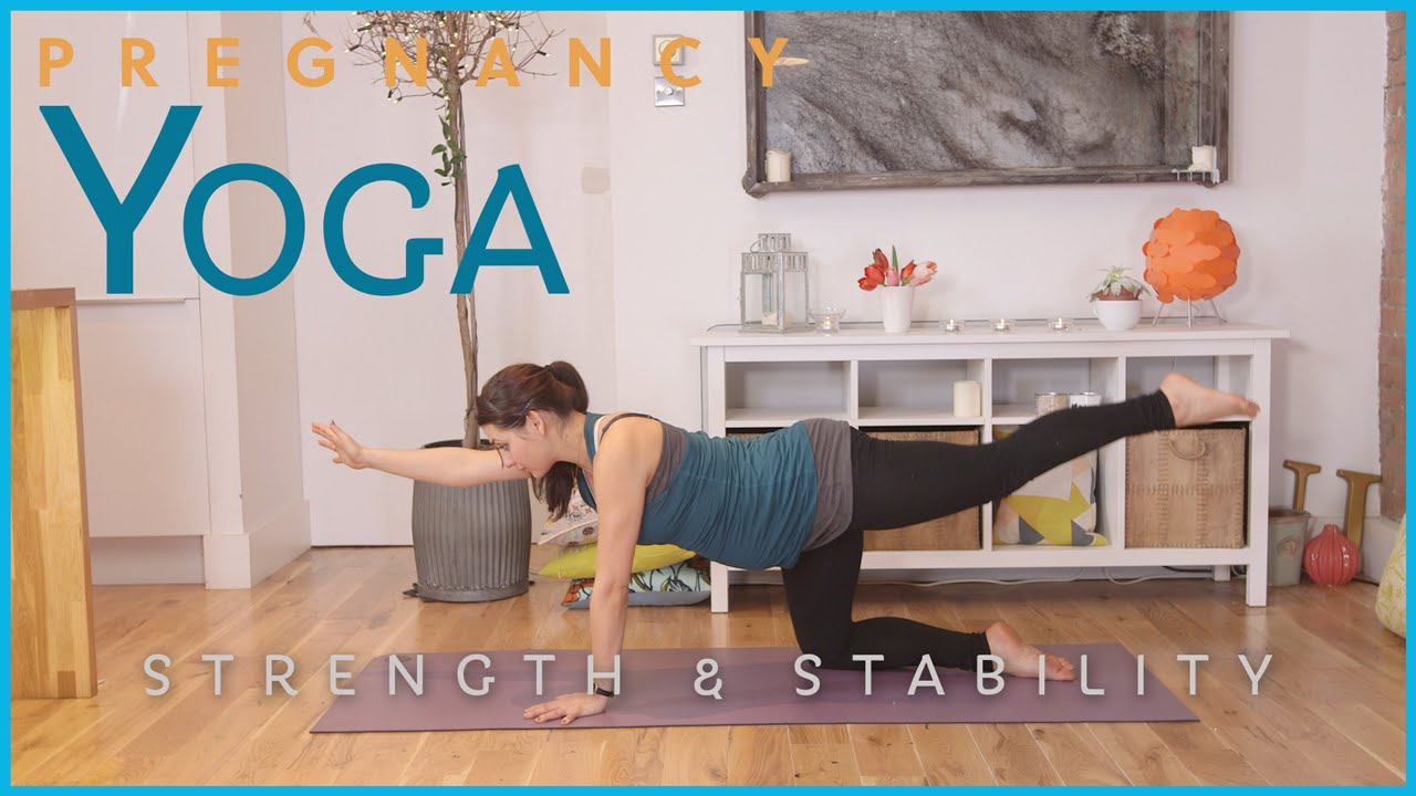Pregnancy Yoga – Strength & Stability