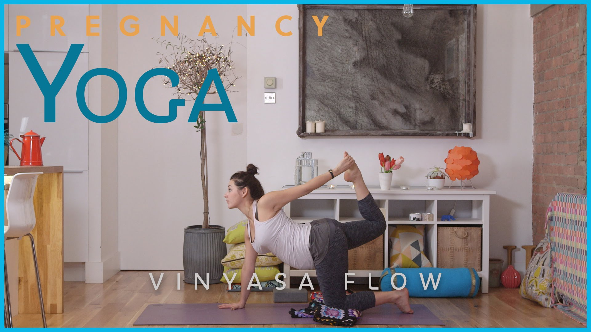 Pregnancy Yoga – Vinyasa Flow
