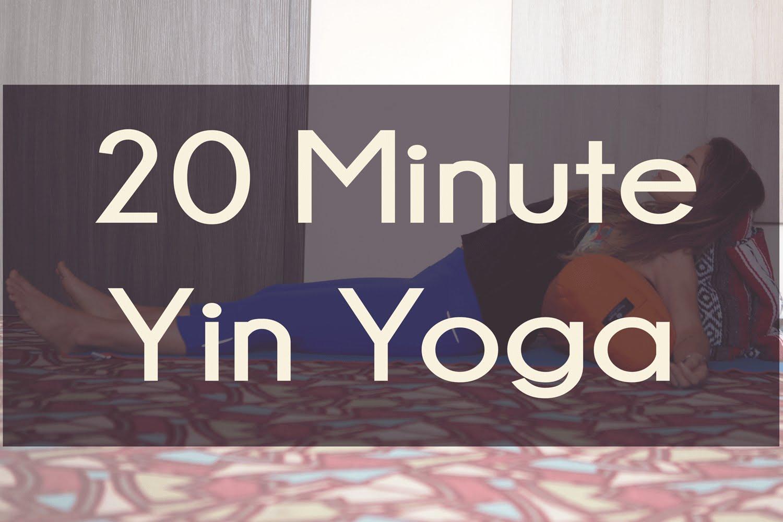 20 Min Yin Yoga