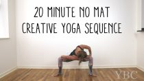 20 Minute No Mat Creative Yoga Sequence