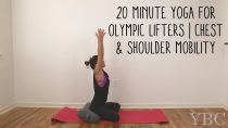 20 Minute Yoga for Olympic Lifters | Chest and Shoulder Mobility