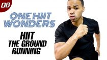 30 Min. HIIT The Ground Running!!! Cardio Workout   One HIIT Wonders #08