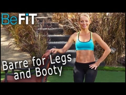 Barre Workout for Legs & Booty: Tracey Mallett- Tracey's Top 3 Fitness Moves