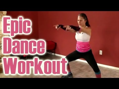 Epic Dance Workout: Funny Fat Burning How To Video, Dena Austin Psychetruth