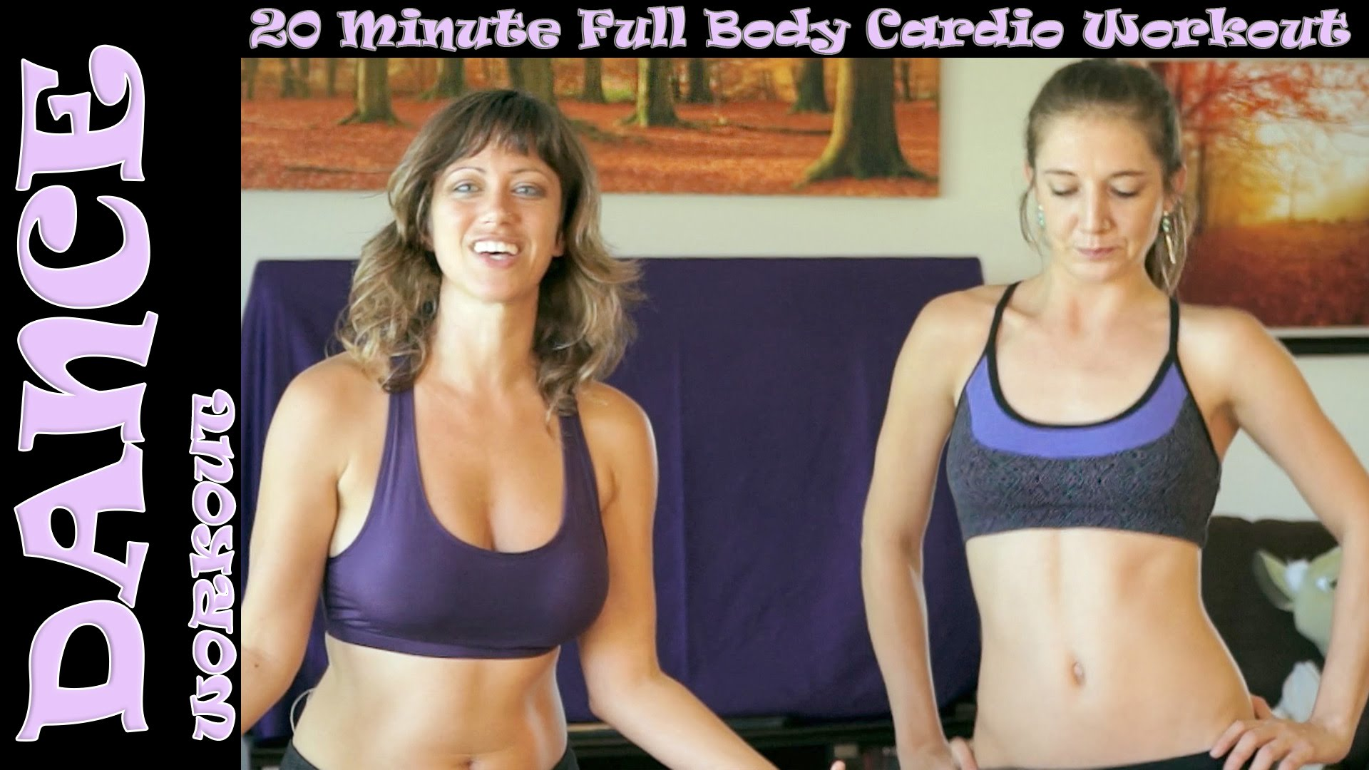 Fun Dance Exercise Workout Fat Burning 2, Legs, Thighs, Butt at Home Beginners Aerobic Cardio