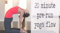 Pre-Run Warm Up Yoga Video – 20 Minute