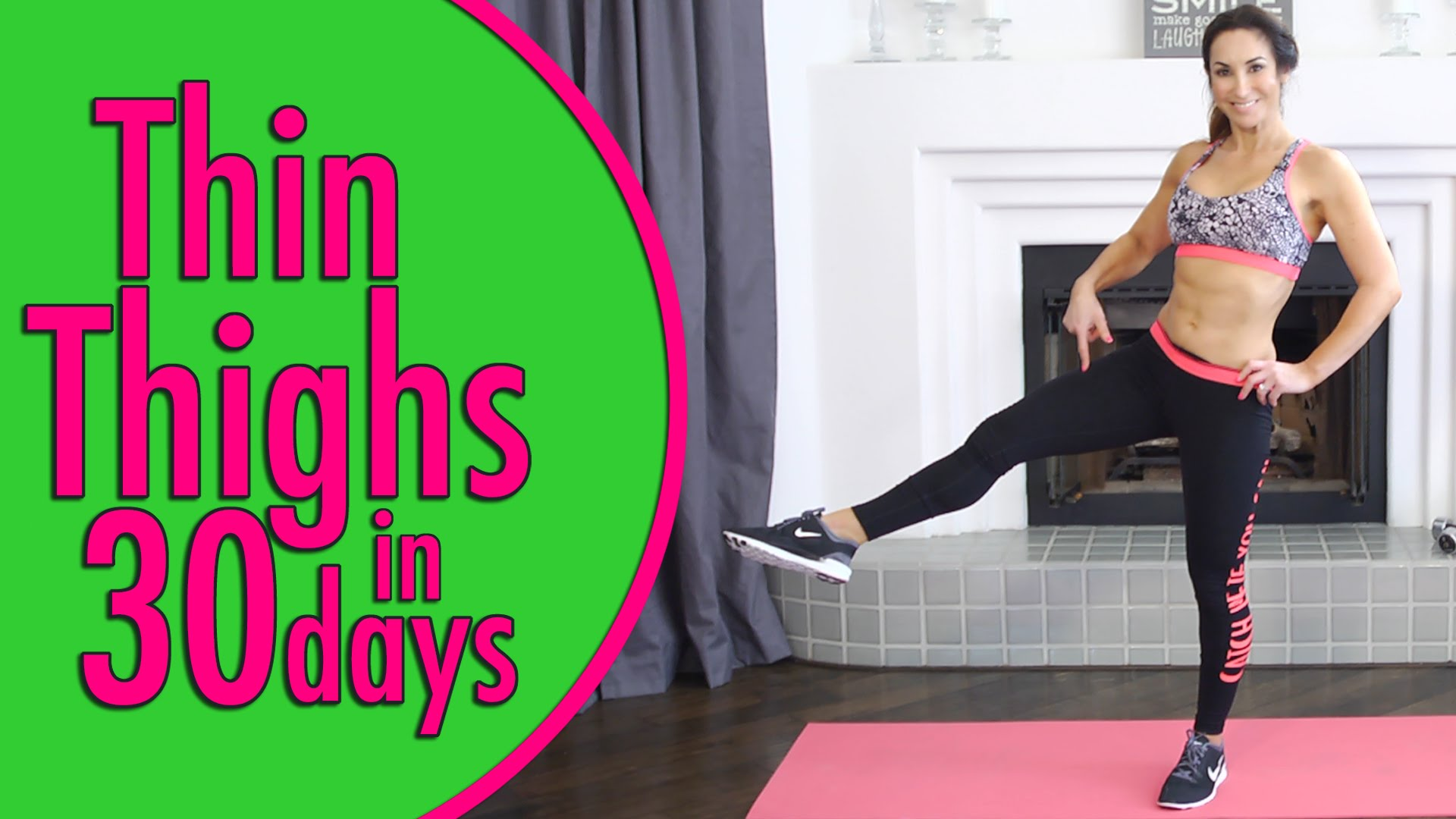 Thin Thighs in 30 Days | Natalie Jill