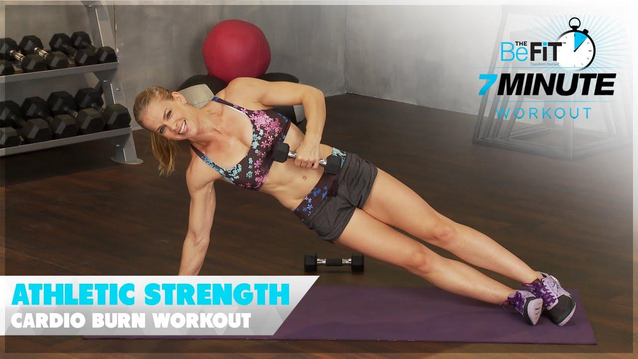 Athletic Strength Cardio Burn Workout: Courtney Prather