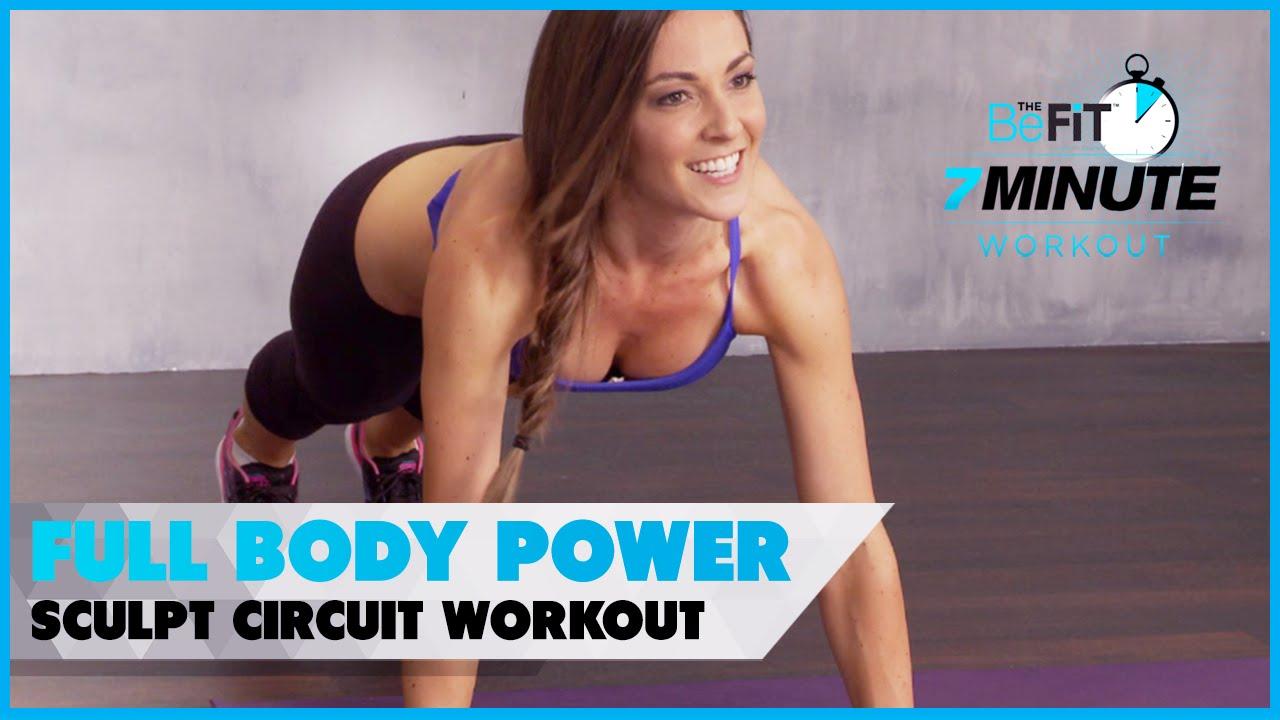 Full Body Power Sculpt Circuit Workout: Courtney Prather