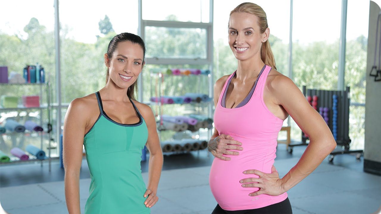 One on One Second Trimester Maternity Workout with Autumn ...