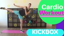 Cardio Kickbox Workout at Home!