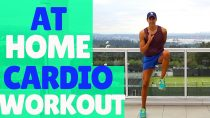 FUN CARDIO WORKOUT AT HOME